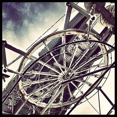 Machine Wall Art - Photograph - The Wheel That Makes The World Go by Robert Campbell