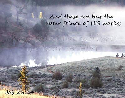 The Whisper Of God Art Print by Robin Hall