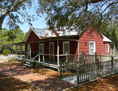 The Whitman House Of Cedar Key Original by Warren Thompson