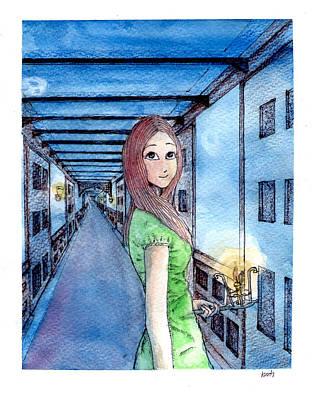 The Winchester Mystery House Art Print by Katchakul Kaewkate