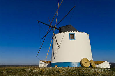Old Mill Scenes Photograph - The Windmill by Heiko Koehrer-Wagner