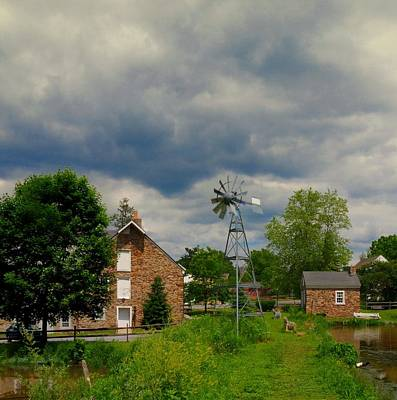 Mayberry Photograph - The Windmill by Paul Ward