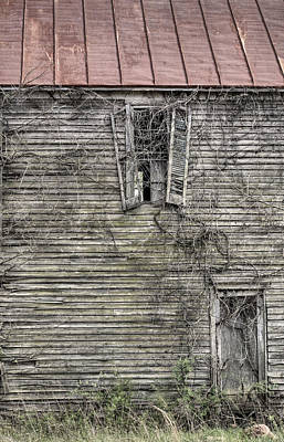 The Window Up Above Art Print by JC Findley