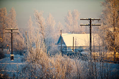 The Winter Country Art Print by Nikolay Krusser