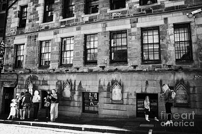 Royal Mile Photograph - The Witchery Luxury Restaurant On The Royal Mile In The Old Town Of Edinburgh Scotland Uk United Kin by Joe Fox
