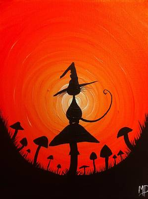 The Witches Hat Art Print by Michael Prosper