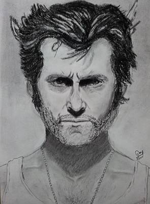 Xmen Painting - The Wolverine by Mohammed Shareef