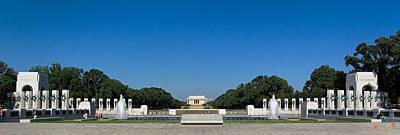 Photograph - The World War II Memorial Panorama Ds027 by Gerry Gantt