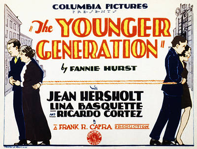 The Younger Generation, Jean Hersholt Art Print