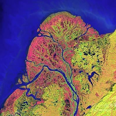 Yukon River Photograph - The Yukon Delta In Southwest Alaska by Stocktrek Images