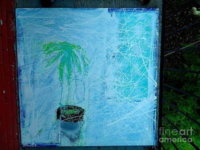 Survive Mixed Media - The Zabuca Plant by Contemporary Luxury Fine Art