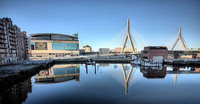 Photograph - The Zakim by JC Findley