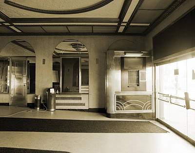 Photograph - Theater Lobby by Jan W Faul