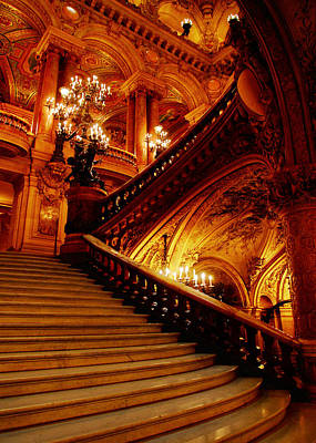 Photograph - Theatre De L'opera by John Galbo