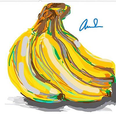 Banana Wall Art - Photograph - Then Ds Finally Worked Again by Kidface Anbessa-Ebanks