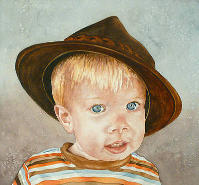 Painting - Theo by Anne Gifford
