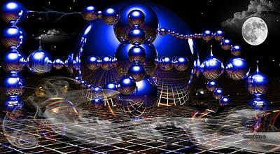 Theory Of Relativity Art Print by Robert Orinski