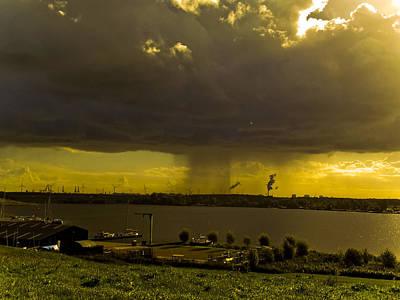 There's Always Rain Somewhere Art Print by Yvon van der Wijk