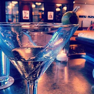Martini Photograph - There's Martinis Here Too by Marayna Dickinson