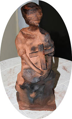 Sculpture - Therese by Gloria Ssali