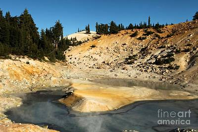Bumpass Photograph - Thermal Pools by Adam Jewell