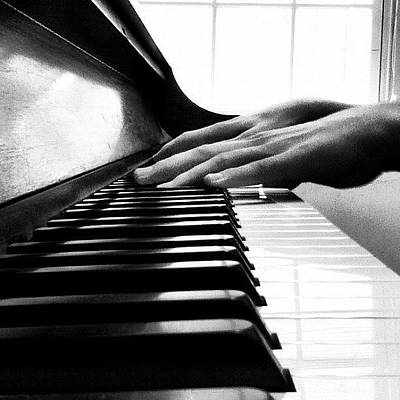 Piano Wall Art - Photograph - These Hands Will Always Be Rough by Drew R