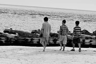 Photograph - They Will Be Boys by Nicholas Evans