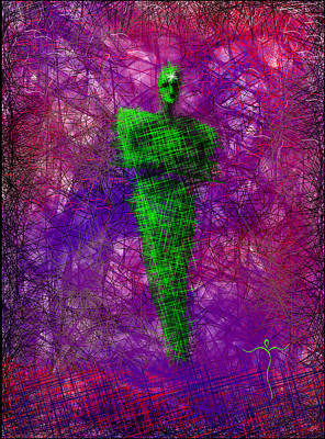Digital Art - Think Green by James Lanigan Thompson MFA