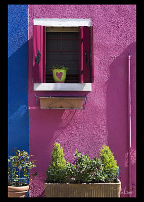 Photograph - Think Pink  Card by Raffaella Lunelli