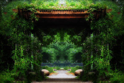Photograph - Third Gateway To Eden by Anthony Rego