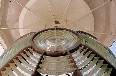 Lighthouse Photograph - Third-order Fresnel Lens - Cape San Blas Lighthouse by Drew Green