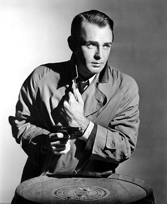 This Gun For Hire, Alan Ladd, 1942 Art Print