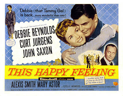 Fid Photograph - This Happy Feeling, Debbie Reynolds by Everett