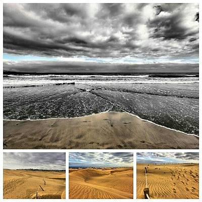 Abstract Landscape Wall Art - Photograph - This Is A Collage From Gran Canaria by Thomas Berger