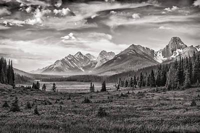 This Is Alberta No.24 - Spray Valley Original by Paul W Sharpe Aka Wizard of Wonders