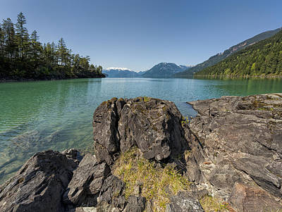 Harrison Hot Springs Wall Art - Photograph - This Is British Columbia No.66 - Surrounded By Beauty II by Paul W Sharpe Aka Wizard of Wonders