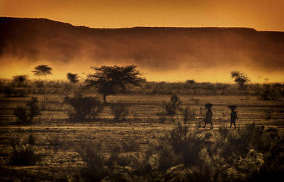 This Is Namibia No. 12 - Walking The Desert Art Print by Paul W Sharpe Aka Wizard of Wonders