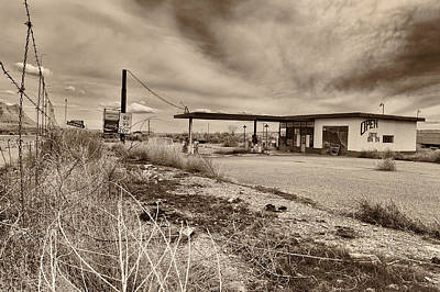 Gas Price Photograph - This Is Utah No. 27 - Closed For Good by Paul W Sharpe Aka Wizard of Wonders