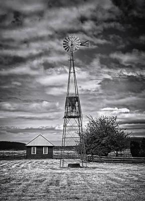 This Is Washington State No. 12 - The American Windmill Art Print by Paul W Sharpe Aka Wizard of Wonders