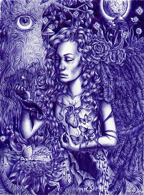 This Is Your Brain On Drugs Print by Callie Fink