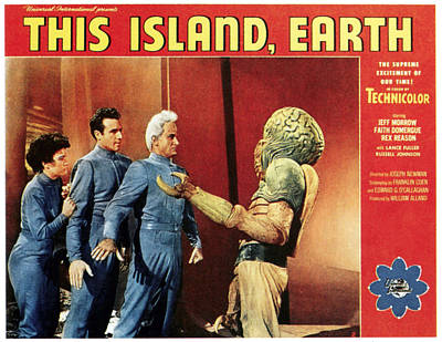 1955 Movies Photograph - This Island, Earth, From Left Faith by Everett