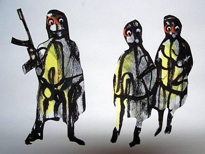 This Masquerade Art Print by Aquira Kusume