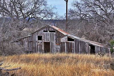 Art Print featuring the photograph This Old Barn by Joe Finney