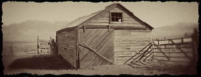 Western Photograph - This Old Barn by Megan Chambers