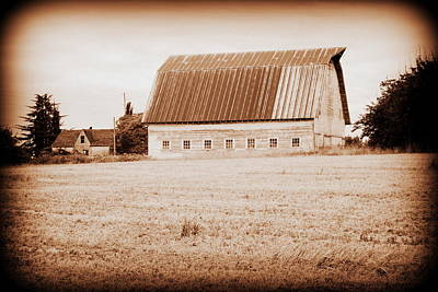 Photograph - This Old Farm II by Kathy Sampson
