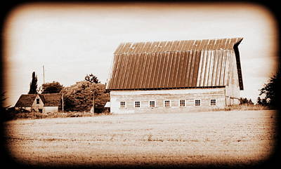 Photograph - This Old Farm IIi by Kathy Sampson