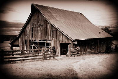 Photograph - This Old Farm by Kathy Sampson