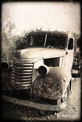 Photograph - This Old Truck by Danuta Bennett
