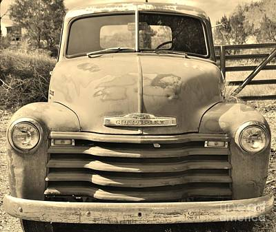 Art Print featuring the photograph This Old Truck by William Wyckoff