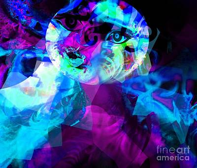 Balance In Life Digital Art - This World Is Not My Home - Just Passing By by Fania Simon